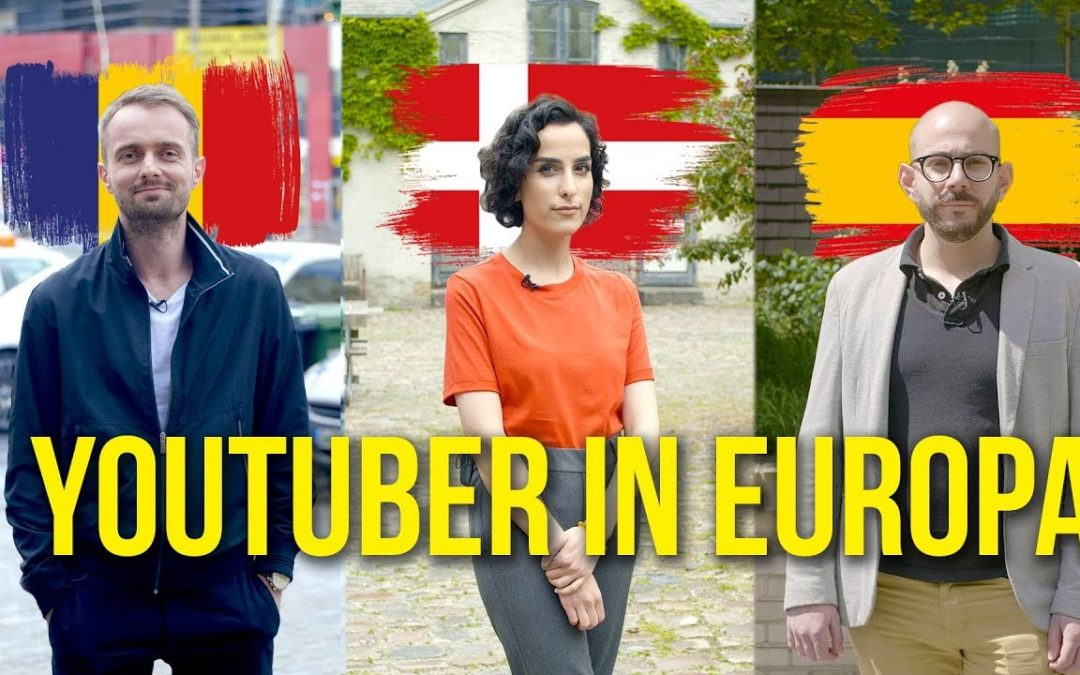 RobBubble trifft YouTuber in Europa
